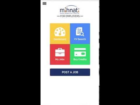 Mihnati Employer App