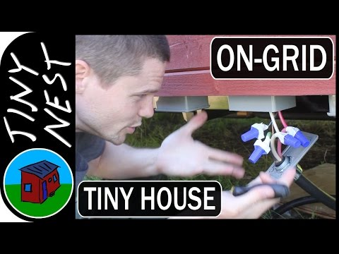On-Grid Tiny House Electrical Connection (Ep.68)