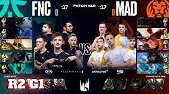 Fnatic vs Mad Lions - Game 1 | Round 2 PlayOffs S10 LEC Spring 2020 | FNC vs MAD G1