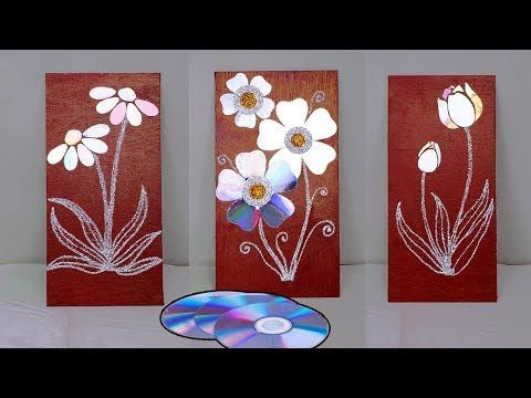 Waste CD || Room Decor || Wall Hanging Idea with waste CD