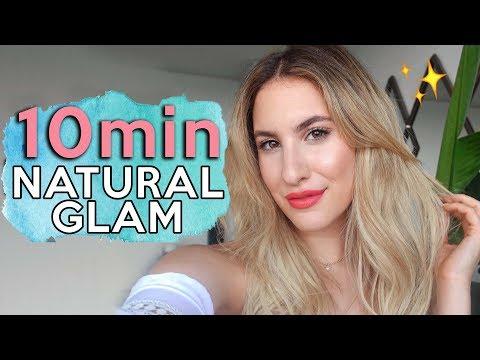 THE EASIEST 10-Minute NATURAL GLAM Makeup | GRWM | Jamie Paige