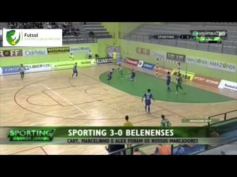 Futsal :: 15J :: Sporting - 3 x Belenenses - 0 de 2014/2015