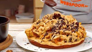 Торт Кучерявый пинчер рецепт с кремом на основе сметаны и сгущёнки