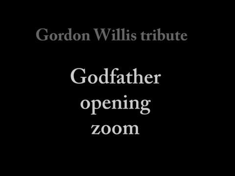 Gordon Willis tribute storyboard for Godfather  thefilmbook