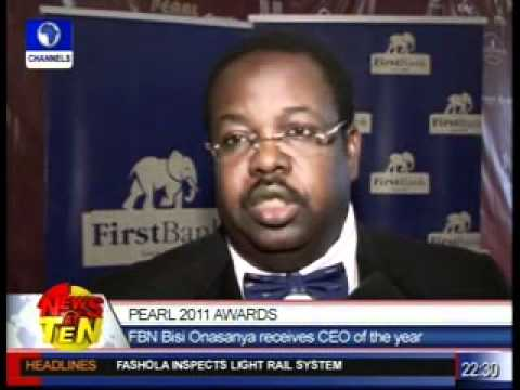 Pearl 2011 Awards:Channels TV wins best capital market reporting media