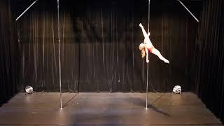 Laurie Suleau - Amateur - Belgian Pole Dance Championship 2018