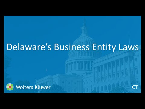 Delaware's Business Laws - 2 6 18 - CT