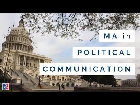 MA in Political Communication | American University in Washington, DC