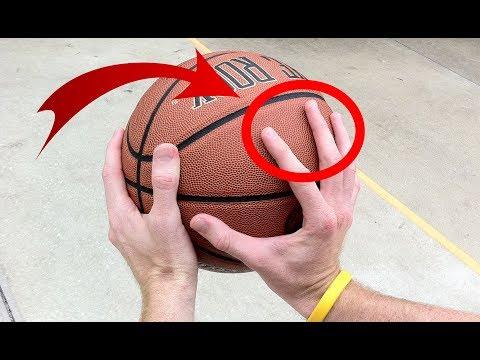 Как правильно бросать баскетбольный мяч в кольцо