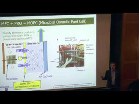 Bruce Logan, Microbial Fuel Cell and Reverse Electrodialysis Technologies...