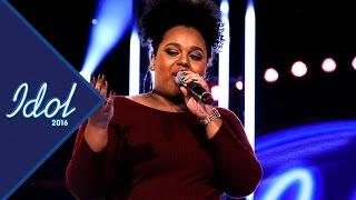 Mabel Zewdie sjunger Be alright i Idol 2016 - Idol Sverige (TV4)