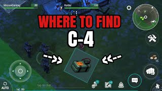 WHERE TO FIND THE C4?? - 1.7 RAIDER UPDATE - Last DAY ON EARTH: SURVIVAL