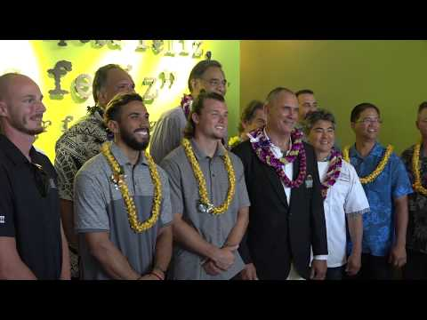 University of Hawaii Youth Impact Program Press Conference