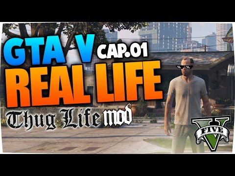 GTA 5 MODS PC | #01 REAL LIFE THUG MOD ESPAÑOL | ROLE PLAY
