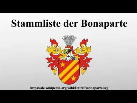 Stammliste der Bonaparte