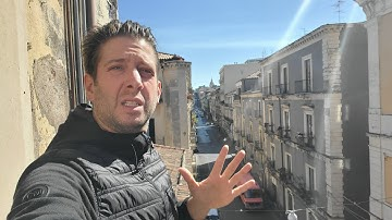 Live! Life In LOCKDOWN Sicily ITALY   Going To Buy FOOD