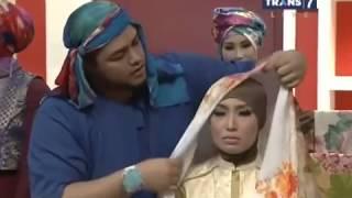 Tutorial Pemakaian Hijab ala Ivan Gunawan