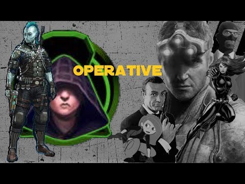 Starfinder - Class At a Glance: Operative