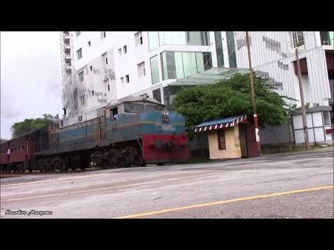スリランカ鉄道M4-740 Sri Lanka Railways Class M4 No.740 (Montreal Locomotive Works MX-620) 15/Oct/2017