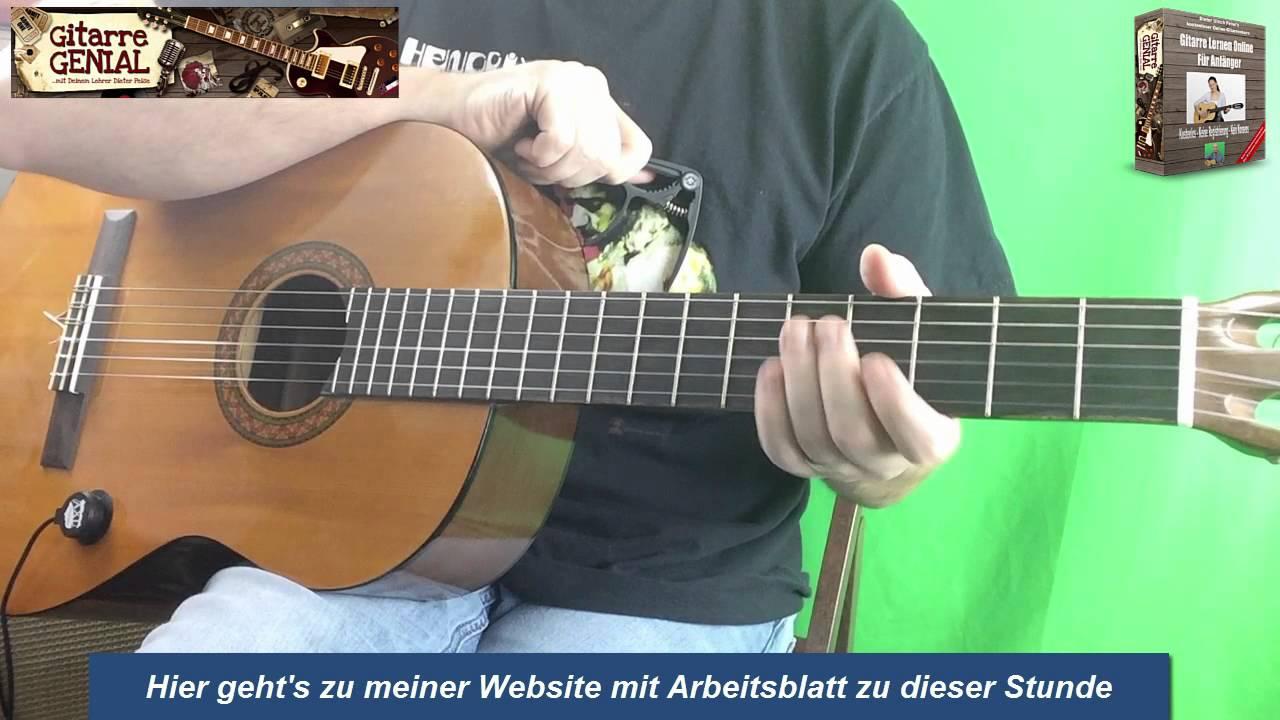 Oh Tannenbaum Gitarren Akkorde Für Anfänger - Weihnachtslieder Für ...