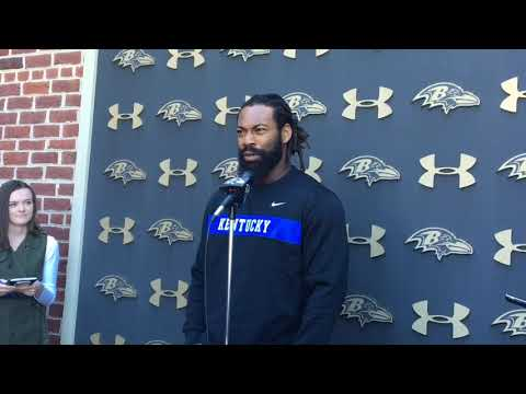 Baltimore Ravens' Za'Darius Smith's athletic ascent began when he went against his mom's wishes