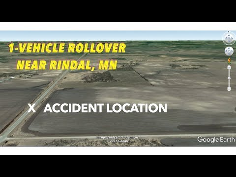 One-Vehicle Rollover In Polk County, MN