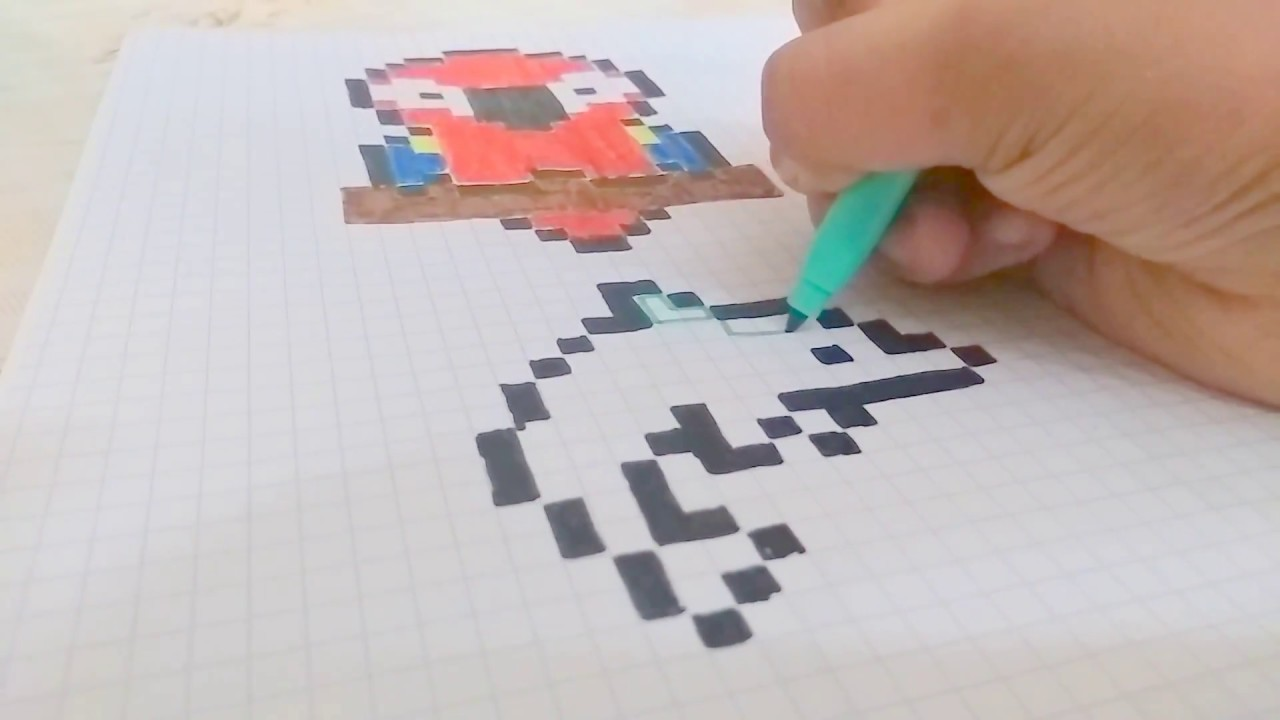 Comment Faire Un Pixel Art En Dauphin