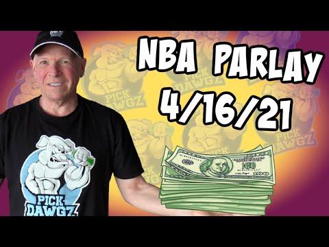 Free NBA Parlay Mitch's NBA Parlay for 4/16/21 NBA Pick and Prediction