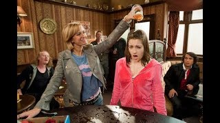 Coronation Street - Becky McDonald Pours A Pint Over Kylie Turner (28th October 2010)