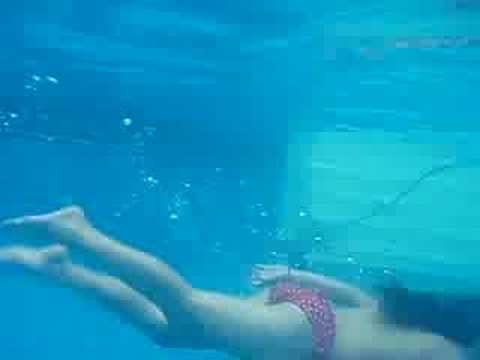 Me Swimming In My Pool Youtube