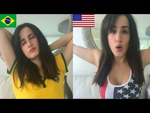 Diferenças Entre BRASILEIROS e AMERICANOS   2