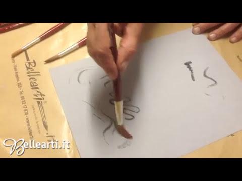 Cosmotop Spin - Pennelli Da Vinci in pelo sintetico