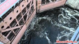Шлюз № 7 канала имени Москвы(Работа шлюза № 7 канала имени Москвы. Канал, соединяющий Москву-реку и Волгу, был открыт 15 июля 1937 г. Современ..., 2013-06-06T06:33:35.000Z)