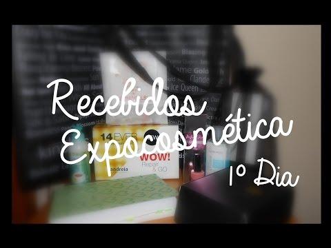 RECEBIDOS | Expocosmética 1º Dia
