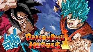 Super Dragon Ball Heroes - Goku SSJB Vs Xeno Goku SSJ4 Theme E…