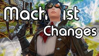 Machinist Changes | FFXIV Endwalker Media Tour