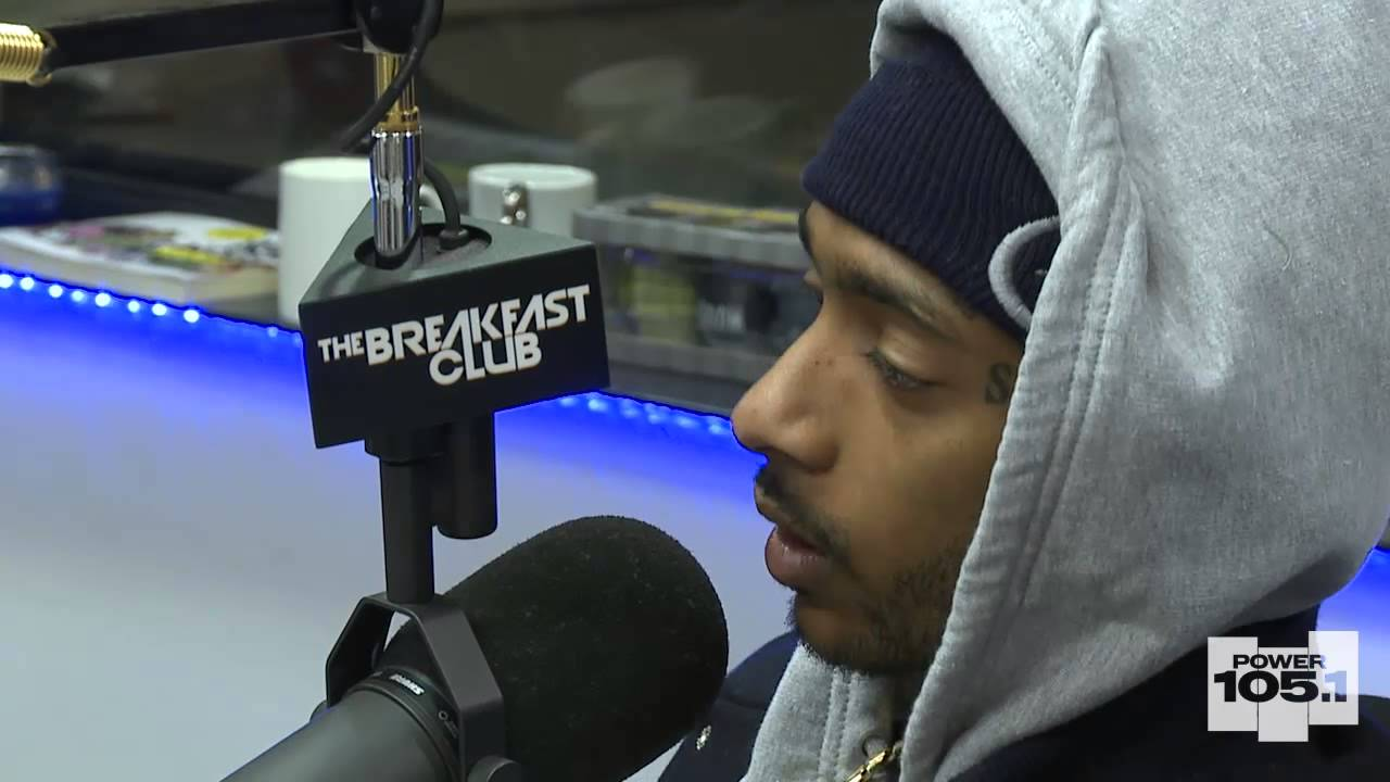 Nipsey Hussle at The Breakfast Club Power 105.1