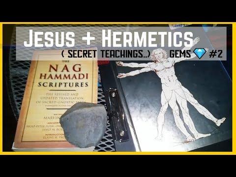 THE GOSPEL OF THOMAS - Hidden Teachings of Jesus Esoteric Knowledge & HERMETICISM