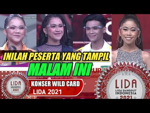 Download INILAH PESERTA YANG AKAN TAMPIL MALAM INI DI KONSER WILD CARD LIDA 2021