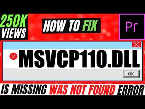 Bật mí cách sửa lỗi msvcp110.dll: Tải msvcp110.dll về máy