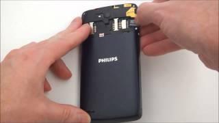Philips Xenium W8510 - распаковка, включение, предварительный обзор