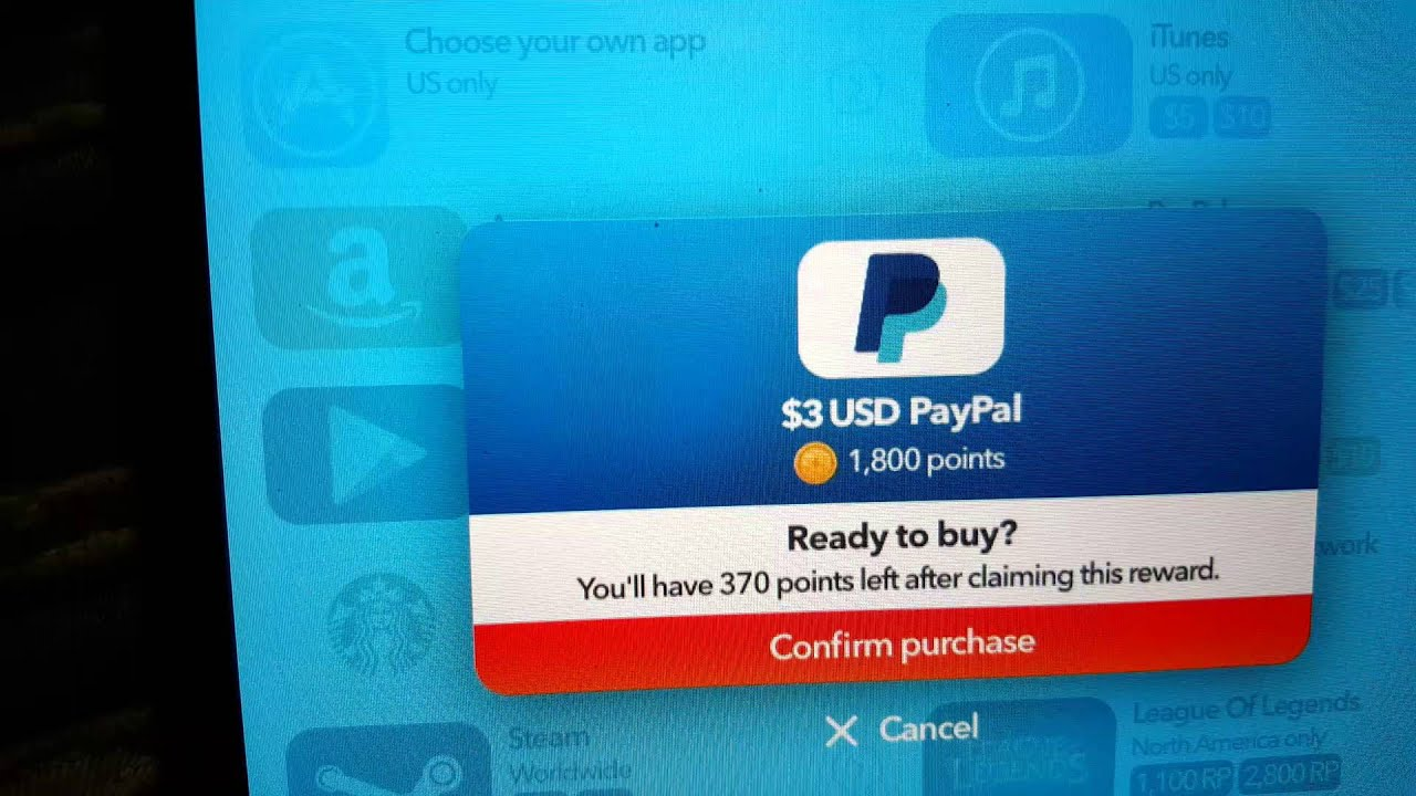 Feature Points Free PayPal CASH ( PROOF ) - YouTube