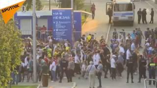 LIVE: Fans Leave Luzhniki Stadium Following Germany vs Mexico Game