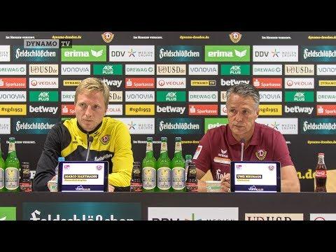 1. Spieltag | SGD - MSV | Pressekonferenz vor dem Spiel
