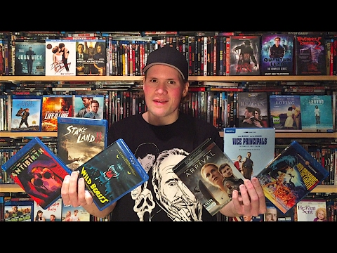 My Blu-ray Collection Update 2/4/17 : Blu ray and Dvd Movie Reviews