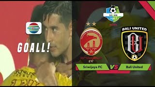 Download Video Goal Esteban Vizcarra - Sriwijaya FC (2) vs (0) Bali United | Go-Jek Liga 1 Bersama Bukalapak MP3 3GP MP4