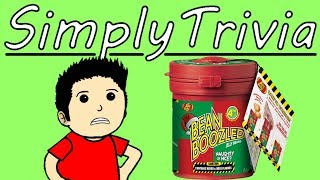 SimplyTrivia Beanboozled Challenge | VIDEO GAME TRIVIA FAILED HARD | SimplyTrivia - Part 1 | Game