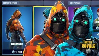 NEW LONGSHOT & INISGHT SKINS NEW FORTNITE ITEM SHOP UPDATE (Fortnite Battle Royale)