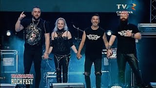 Video Scarlet Aura - teaser for Hot`n`Heavy with live songs from concert! download MP3, 3GP, MP4, WEBM, AVI, FLV September 2018
