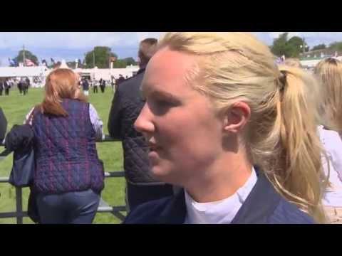 Showjumping - Charlotte Platt on her horse Carlow Cruiser